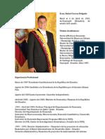 Econ.rafael Correa Delgado