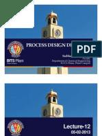 Process design dynamics-12