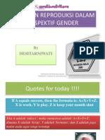 PPT Perspektif Gender