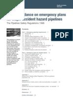 Emergency Plan Pipe