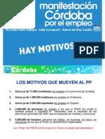 Argumentario  Manifestacion Pp Por El Empleo 29.03.09