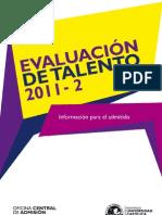 MANUAL PARA EL ADMITIDO Evaluación del Talento 2011-2.pdf