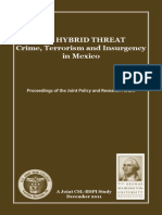 The Hybrid Threat, Crime, Terrorism, and Insurgency in Mexico, 2011