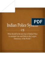 Reforms in Indian Police System