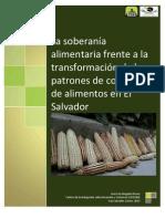 La soberanía alimentaria frente a la transformación de los patrones de consumo de alimentos en El Salvador