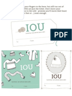 Iou Tag for Knitting