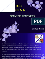 Chapter-8 - Service Recovery