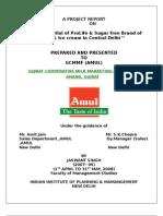 Amul Prolife (probiotic)& Sugarfree icecream Project