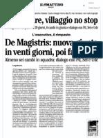Rassegna Stampa 20.04.13