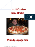 Pizza Berlin Mundpropaganda