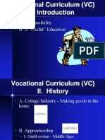 Vocational Curriculum