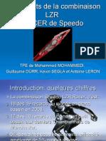 Présentation Les secrets de la combinaison LZR Racer de Speedo VM GD