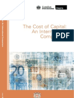 Cost of Capital Aninternational Comparison