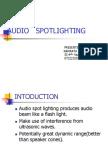 Audio Spotlighting