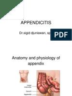 Appendicitis- Dr. Sigit