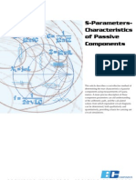 S-Parameters-Characteristics of Passive Components
