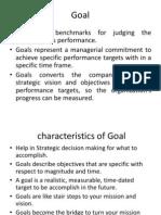 Goal Congruence