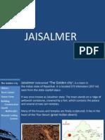 Jaisalmer- secular architecture