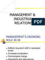Management & Industrial Relations