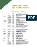 Kalender Akademik Unikom
