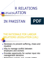Labour Relations & Laws