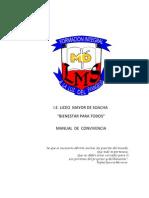 i.e. Liceo Mayor de Soacha Manual de Convivencia