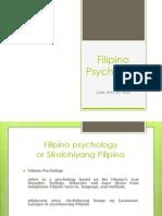 Filipino Psychology