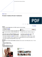 Presente Contínuo (Present Continuous) _ InfoEscola