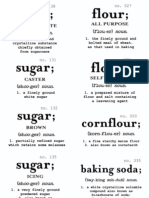 Baking Canister Labels