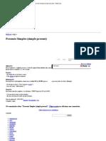 Presente Simples (Simple Present) - InfoEscola