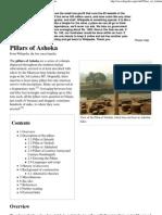 Pillars of Ashoka - Wikipedia, The Free Encyclopedia