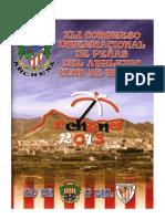 Programa del Congreso Internacional de Peñas del Atletic en Archena