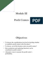 Profit Centre