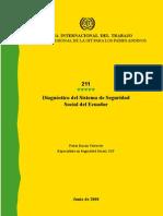 Diagnostico Del Sistema de Seguridad Social Del Ecuador