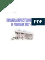 Dinamica Impozitelor Directe in Perioada 2007-2010
