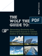The Wolf Theiss Guide to Generating Electricity From Renewable Sources in CEE and SEE 2012