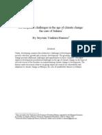 Seyoum Hameso - Climate Change in Sidama
