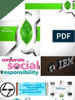 Csr in Corporates