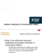 Modern Methods of Construction