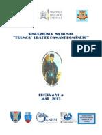SIMPOZIONUL  NAȚIONAL FRUMOS/URAT PE PAMANT ROMANESC 2013