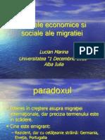 2dvns_Efectele Economice Si Sociale Ale Migratiei