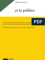 Pathways to Politics