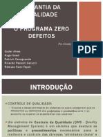 Apresentação - Zero Defeitos