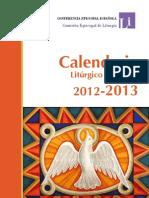 Calendario Liturgico 2013