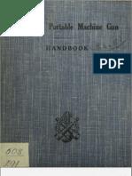 Hotchkiss Portable Machine Gun Handbook 1922