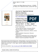 "A Veterinary and Behavioral Analysis of Dolphin Killing Methods Currently Used in the ""Drive Hunt"" in Taiji, Japan"