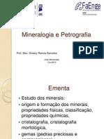 Mineralogia e Petrografia Aulas 1 e 2