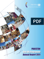 Pakistan One UN Program Annual Report 2011