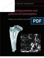 Consuming Passions and Patterns of Consumption