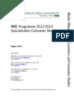 MME Programme 2012 Consumer Studies (2)